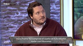 Kike Martín regresa a `Hora Punta¿ para explicarnos su experiencia al nadar con tiburones. Volvió del coma tras 29 días