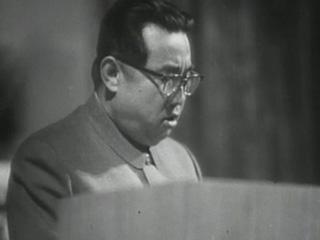 Tres generaciones de dictadores. KIM IL SUNG