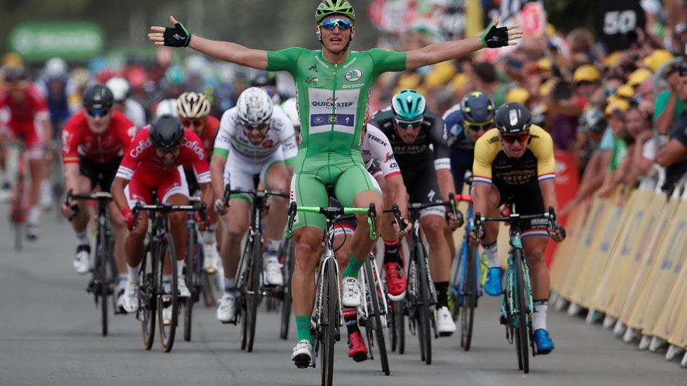 Kittel suma en Bergerac su cuarto triunfo al sprint