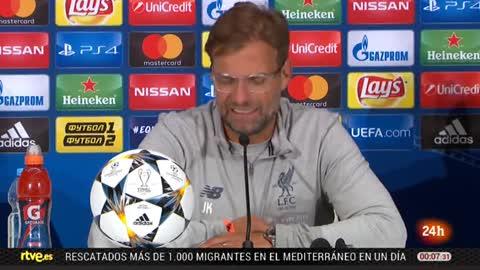 """Klopp: """"El gol de chilena fue maravilloso"""""""