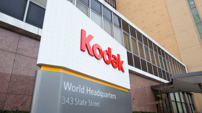 Kodak se acoge a la ley de quiebra de EEUU