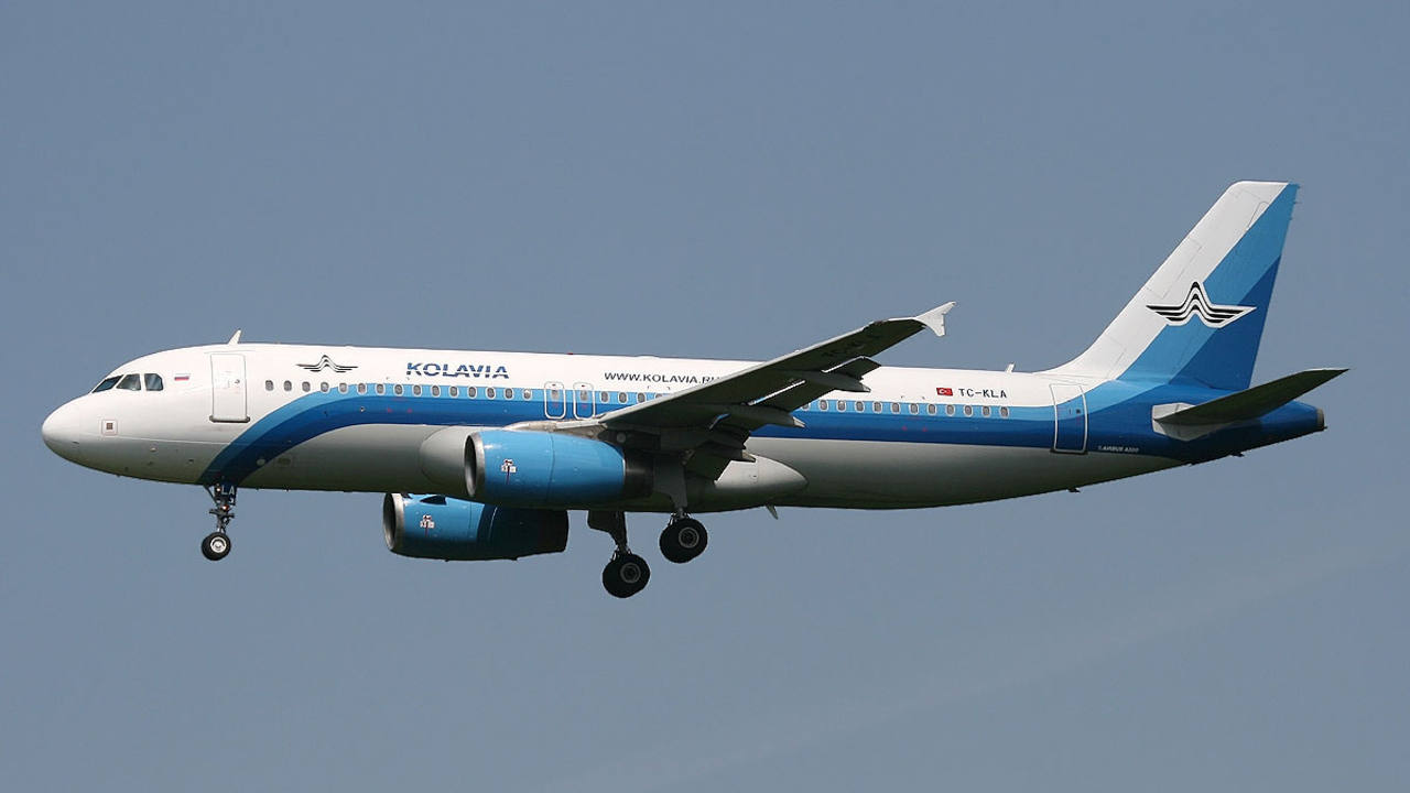 Kolavia Airbus A320
