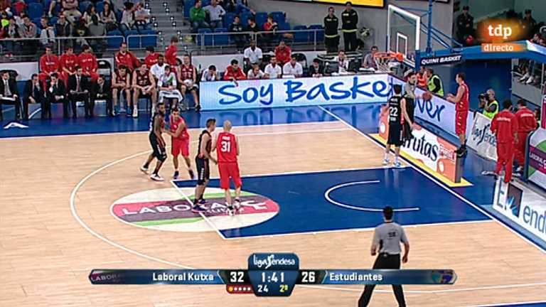 Baloncesto - Liga ACB: 3ª Jornada: Laboral Kutxa-Estudiantes