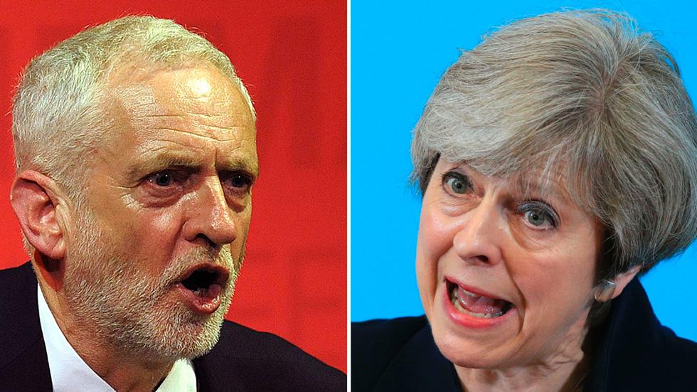 Los laboristas se sitúan a tres puntos de los conservadores en las elecciones en el Reino Unido