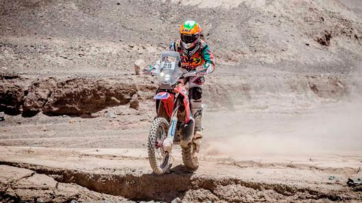 Laia Sanz, a demostrar que el Dakar no es solo cosa de hombres