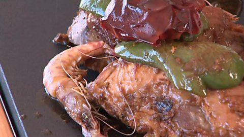 Somos #DietaMediterránea - Langostino de Guardamar (Recetas ganadoras del Concurso de cocina)