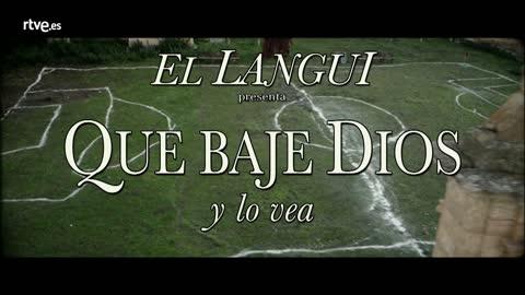El Langui canta el tema original de 'Que baje Dios y lo vea'
