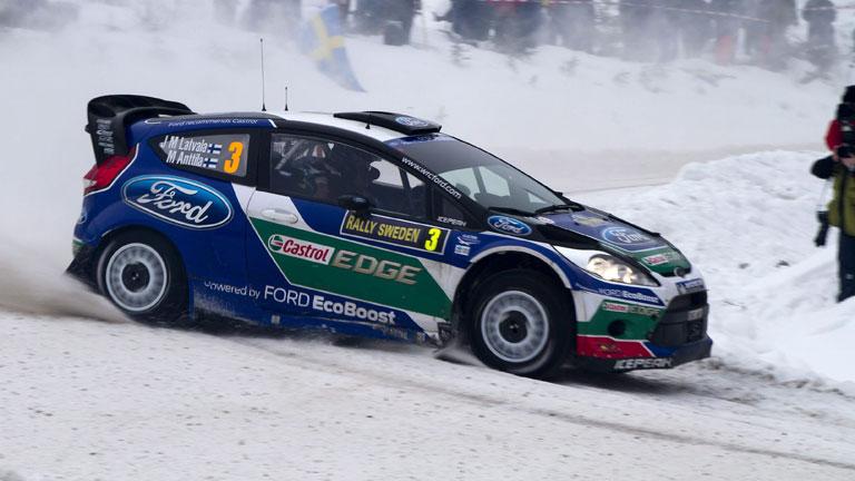 Latvala continúa líder en el Rally de Suecia