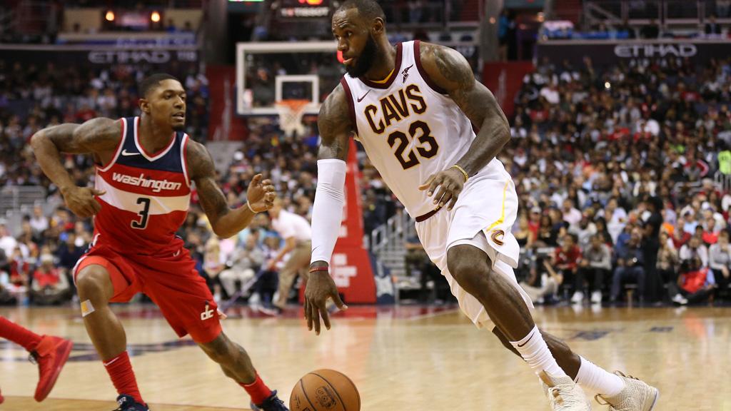 LeBron James revienta a los Wizards