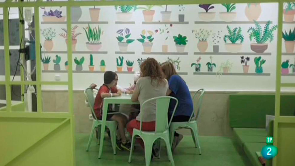 Página Dos - Reportaje - Lectura que da vida: Biblioteca Eugenio Trias, HNIJ Madrid