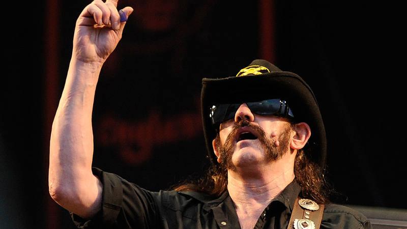 Lemmy Killmister, líder de la banda Motörhead