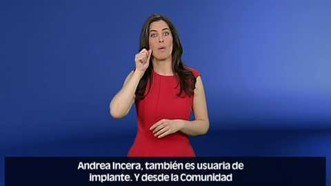 En lengua de signos - 08/04/18
