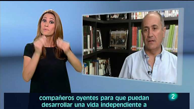 En lengua de signos - 08/09/12