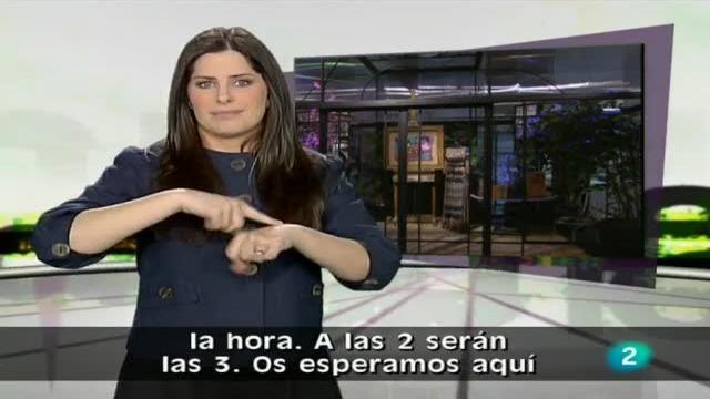 En lengua de signos - 26/03/11