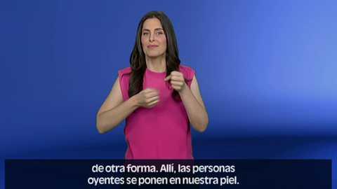 En lengua de signos - 29/07/18