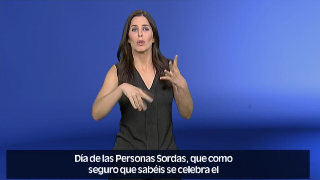 En lengua de signos - 30/09/18