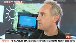 Zoom Net - Lenovo, Ferrán Adriá y LG G3 - 07/06/14
