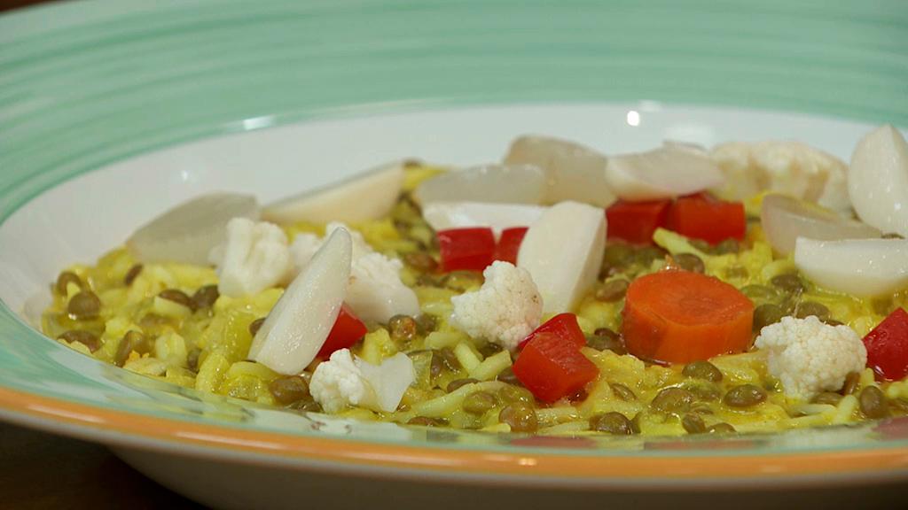 Torres en la cocina - Lentejas al curry