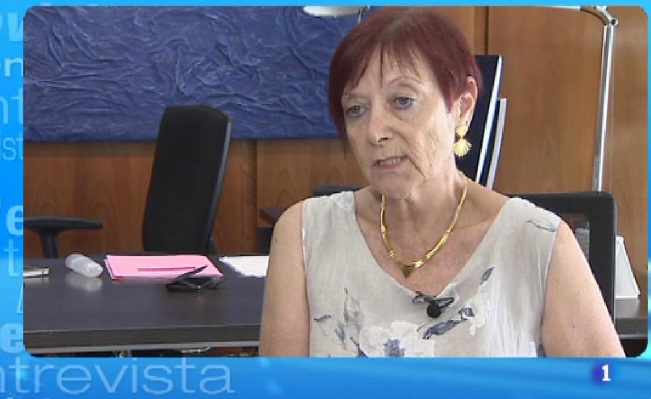 L'Entrevista de l'Informatiu Cap de Setmana: Margarita Arboix, l'única dona rectora d'una universitat pública catalana, la UAB