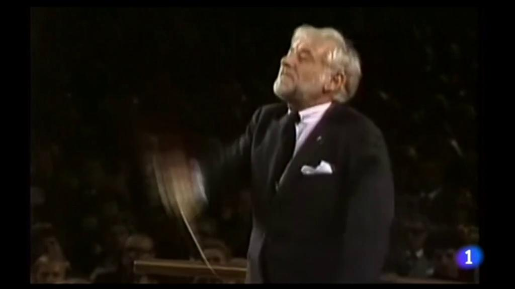 Leonard Bernstein hoy hubiera cumplido 100 años