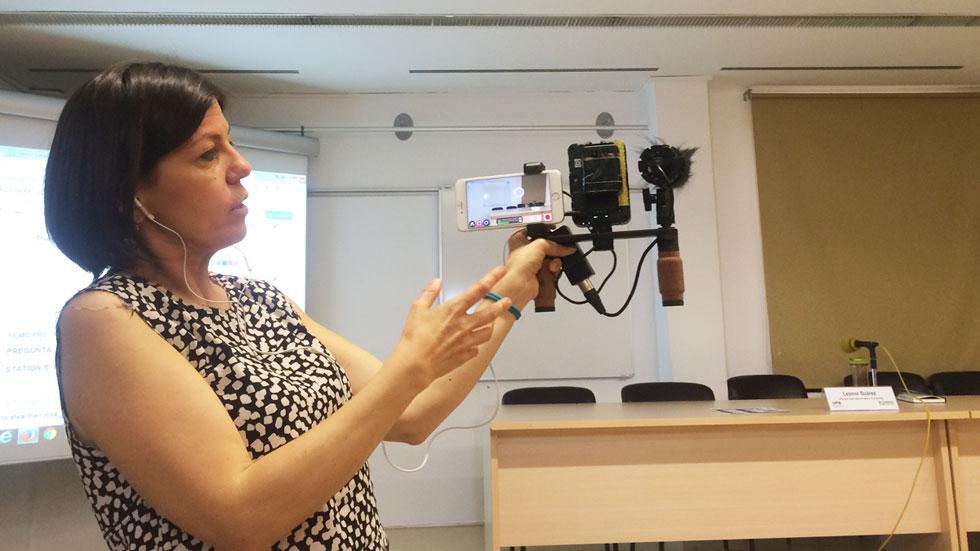 OI2 - Leonor Suárez nos muestra su kit de reportera