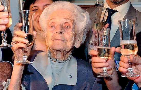 Rita Levi-Montalcini cumple cien años