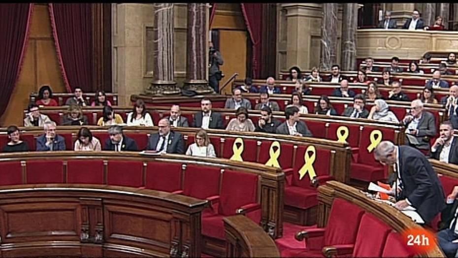 Parlamento - Otros parlamentos - Ley para la investidura telemática en Cataluña - 05/05/2018