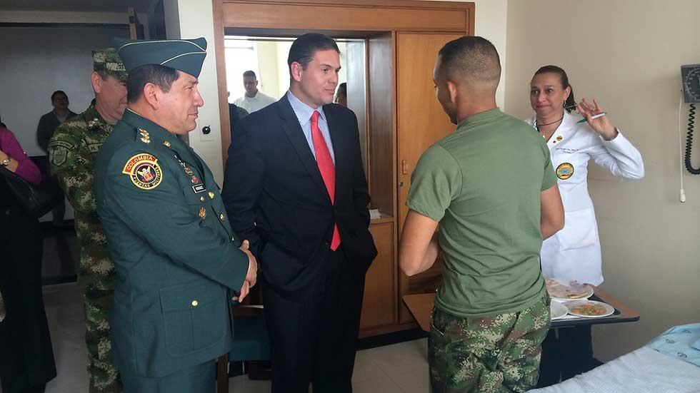 La liberación de dos soldados allana la reanudación del proceso de paz