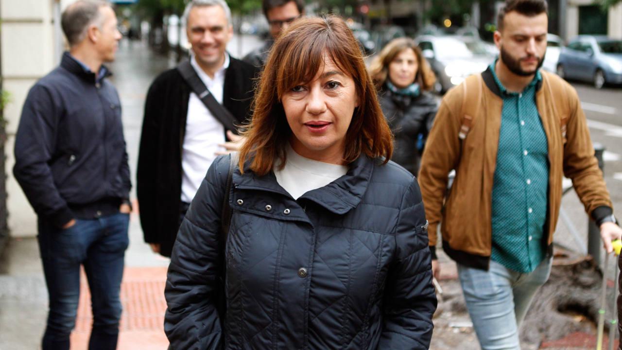 La líder del PSOE en Baleares y presidenta autonómica, Francina Armengol