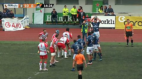 Rugby - Liga División de Honor 8ª jornada: Ordizia RE - Vrac Valladolid