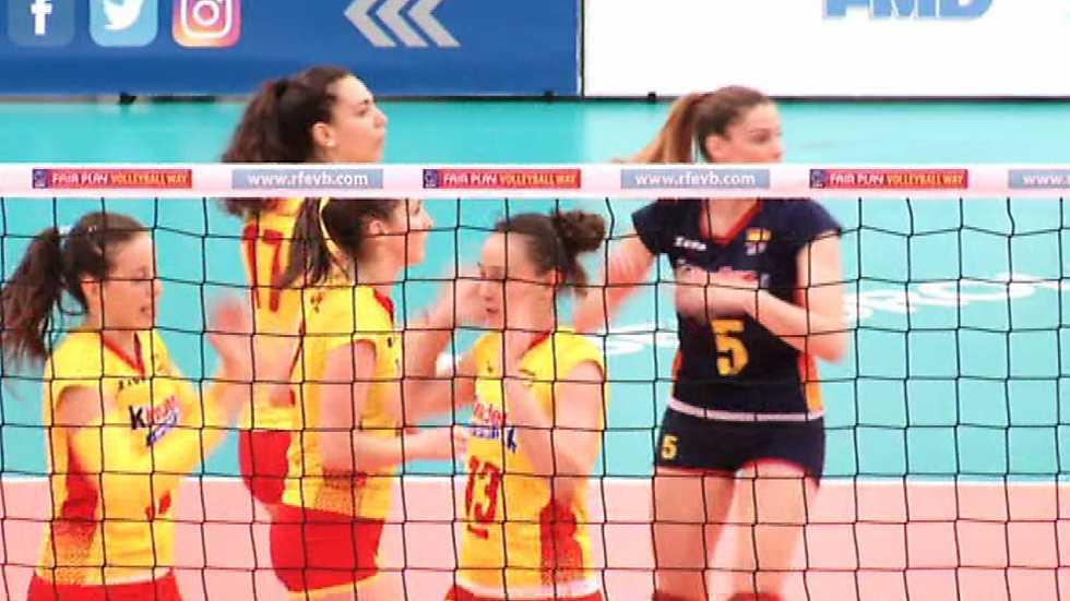 Voleibol - Liga europea femenina. Resumen