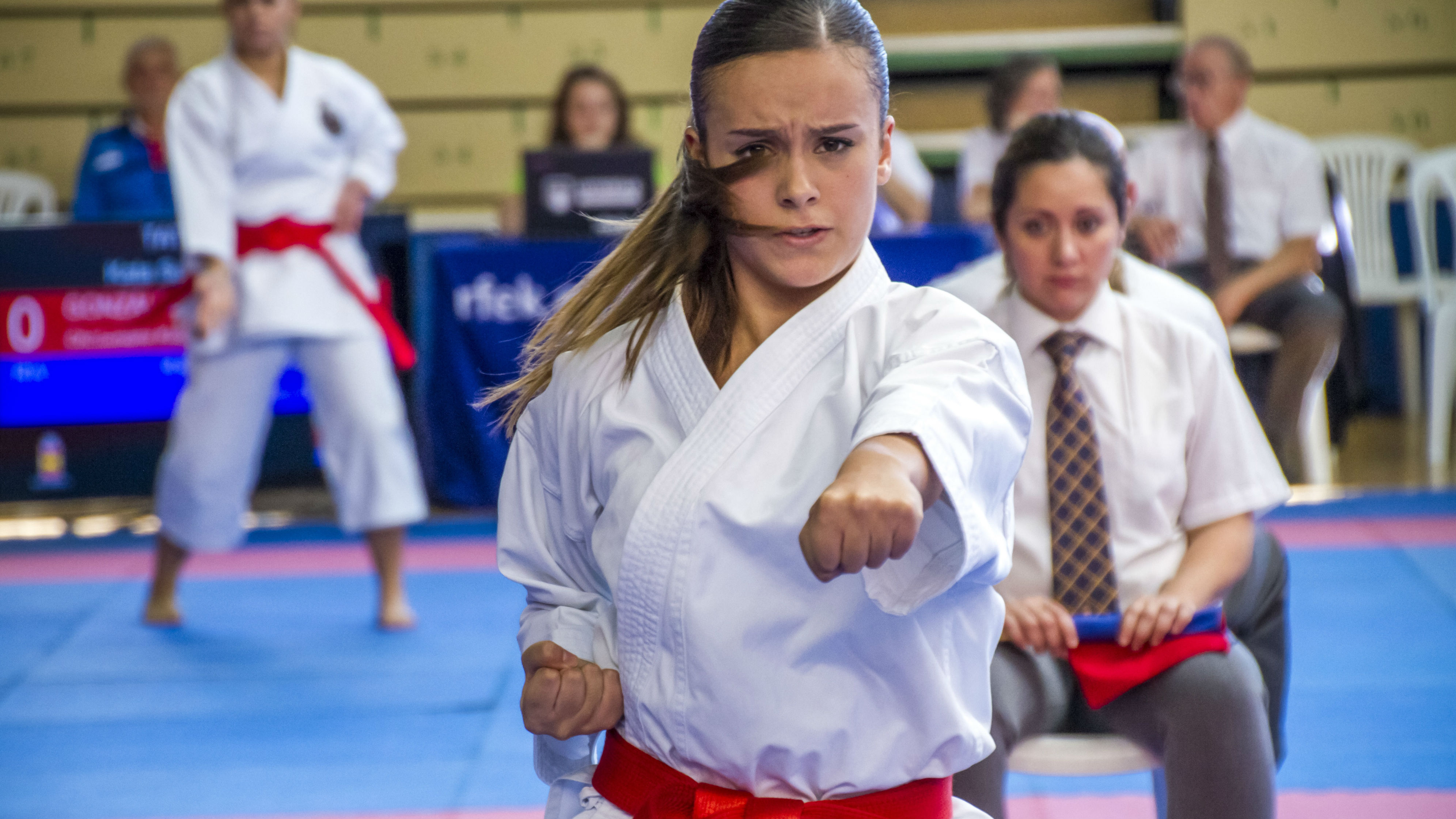 Liga Nacional Femenina Iberdrola de Kárate junior y sub 21