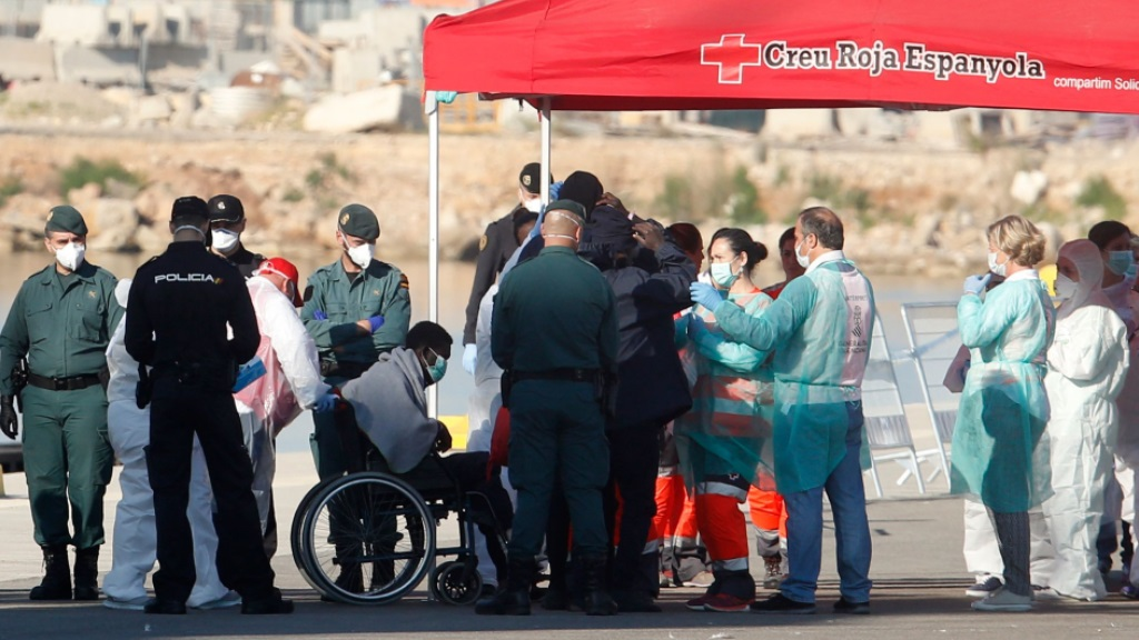 Avance informativo - Llegada de los migrantes del Aquarius a Valencia