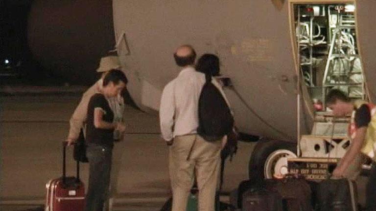 Llegan a España los cooperantes repatriados desde el Sáhara