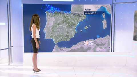 La lluvia dejará agua en toda España