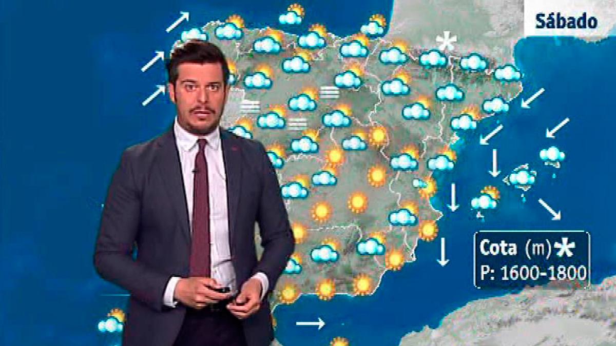 Lluvias en Baleares y Cataluña, pero claros en el resto del país
