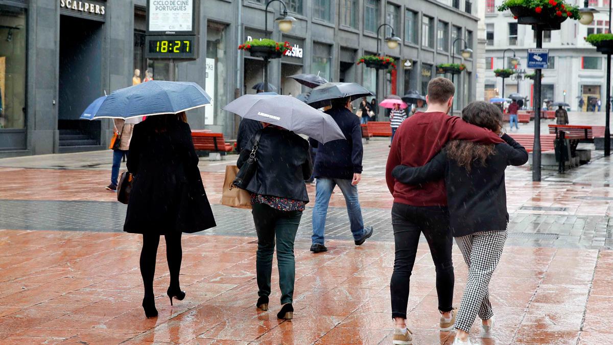 Lluvias en casi toda la Península, sobre todo en el noroeste, País Vasco, Navarra, Aragón y Sistema Ibérico
