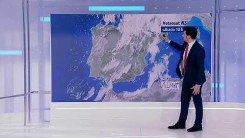 Lluvias fuertes en el Cantábrico, Cataluña y las Islas Baleares