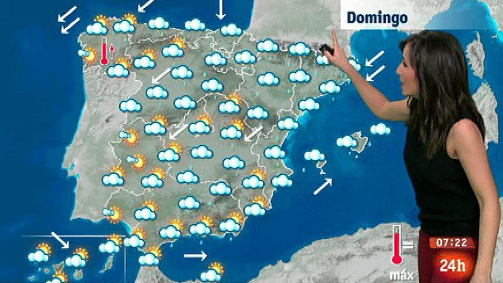 Lluvias fuertes en Cataluña, sur de Aragón y Baleares