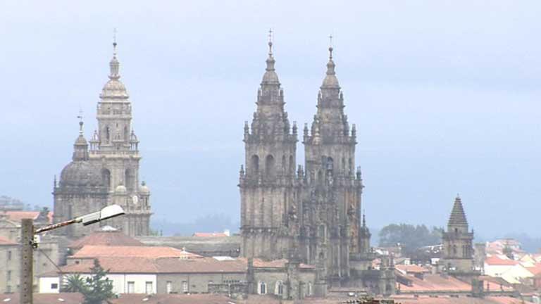 Lluvias fuertes en Galicia