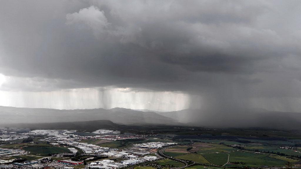 Lluvias localmente fuertes en Cataluña y este del Sistema Ibérico