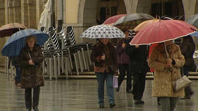 Lluvias en Galicia, Extremadura y sistema central