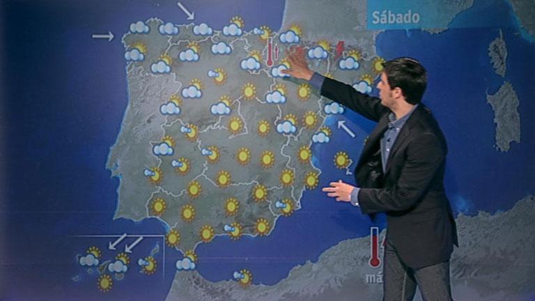 Galicia y Asturias amanecerán con nubes y precipitaciones débiles