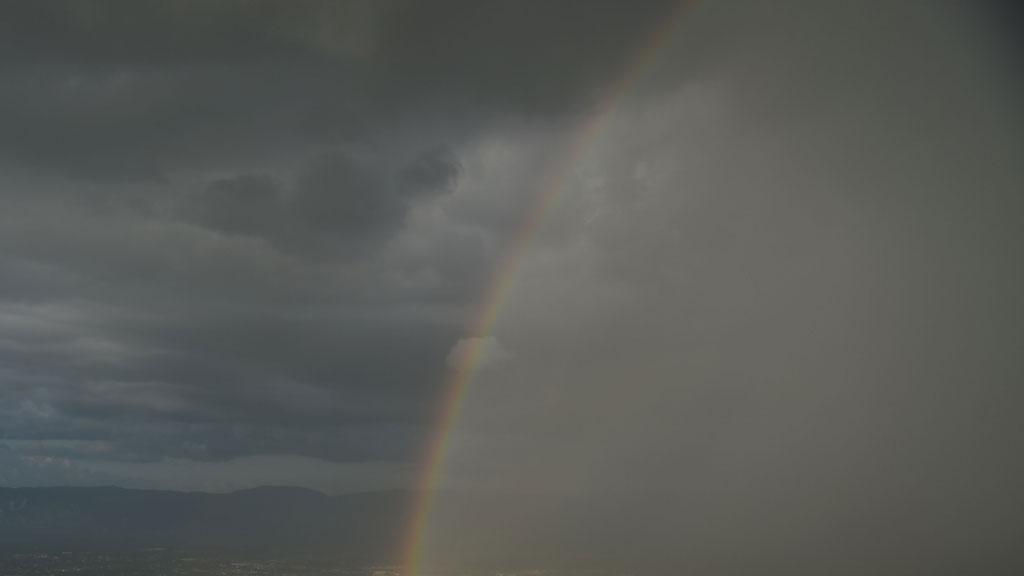 Las lluvias se extienden al suroeste y siguen las tormentas en Levante
