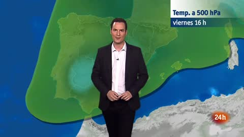 Lluvias en los sistemas Central e Ibérico, así como en Andalucía, Aragón y Cataluña