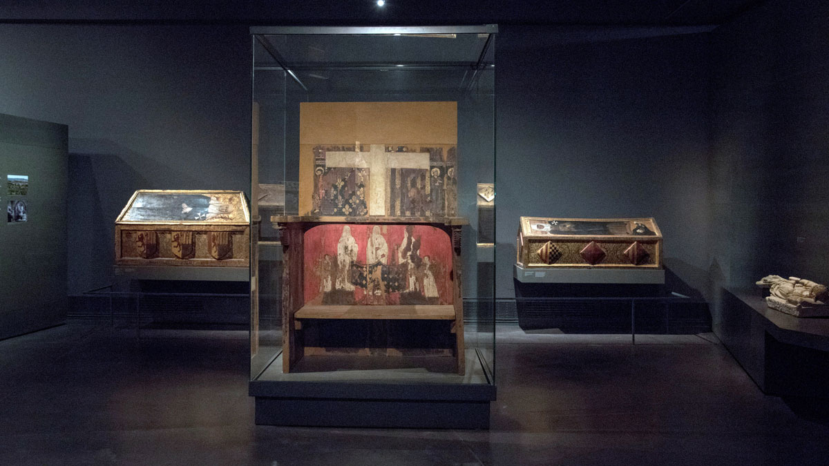 La localidad aragonesa de Sijena se prepara para recibir las 44 obras de arte del Museo de Lleida