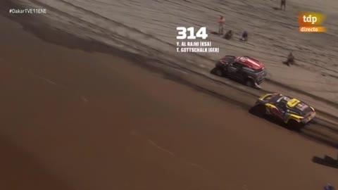 Loeb conquista la segunda etapa maratón