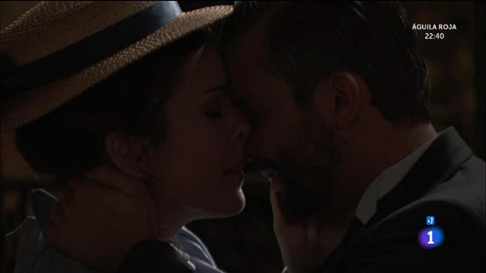 Acacias 38 - ¡Lolita descubre a Felipe y Huertas besándose!