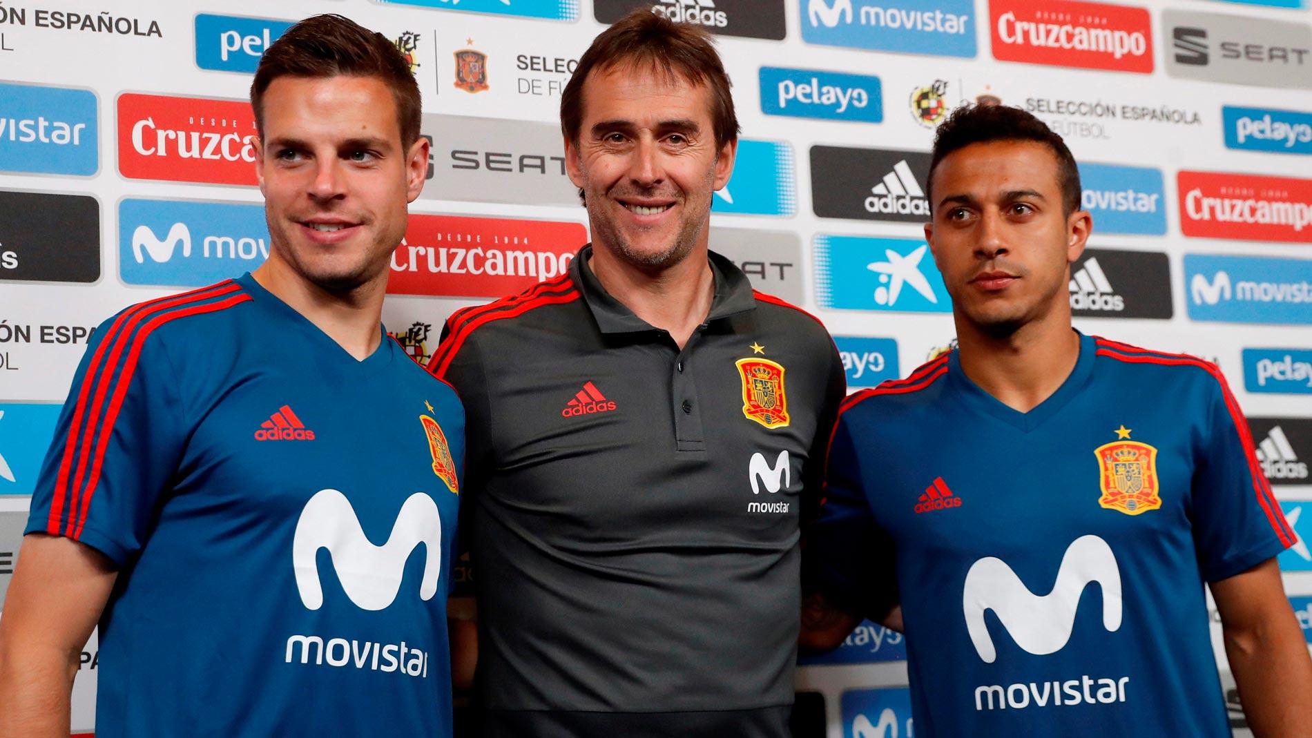 "Lopetegui: ""Busquets está listo para jugar ante Túnez"""