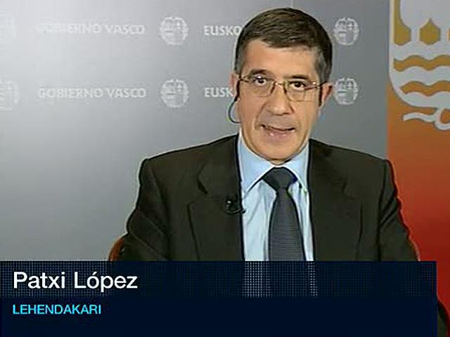 Patxi López cree que en período electoral no hay que tomar decisiones sobre los presos de ETA